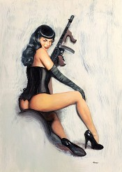 """Dont Tread on Me"" (Bettie Page)"