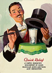 Alka-Seltzer Quick Relief Ad Illustration