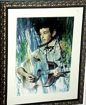 Portrait of Young Bob Dylan, SOLD