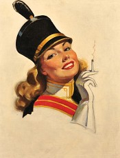 Cigarette Advertisement