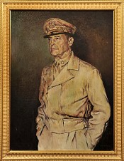 Portrait of General McArthur- SOLD