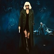 Atomic Blonde- Original Poster Illustration