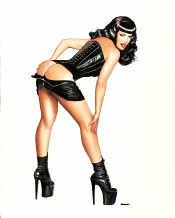 Whoops! (Bettie Page)