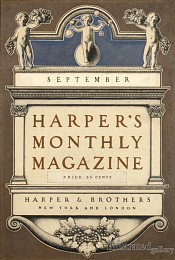 Harper's Monthly Magazine Cover-SOLD