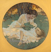 Women with Child, Collier's Magazine Cover