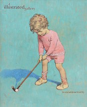 Good Housekeeping Cover, The Little Golfer