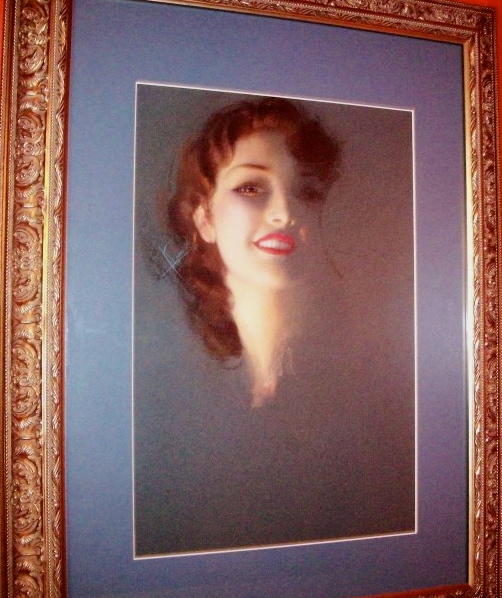 Rolf Armstrong Pastel