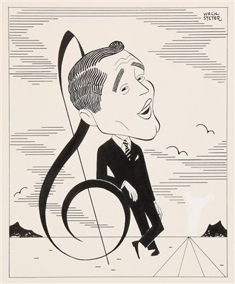 Perry Como Circa 1955 By George Wachsteter 1911 2004