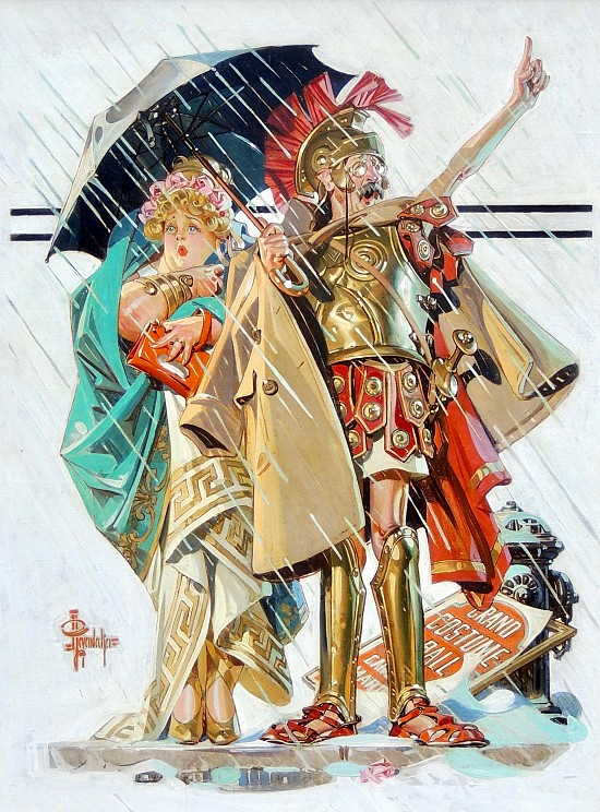 To the Vanquished, Saturday Evening Post Cover, March 10, 1934