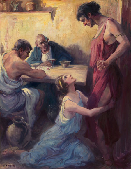 A Roman Scene