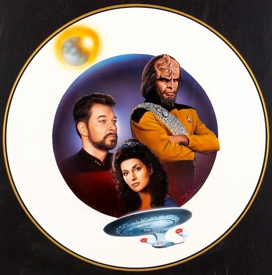 "Star Trek: Next Generation #31 ""Foreign Foes"" Paperback Book Cove"