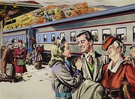 Pullman Advertisement, Saturday Evening Post, 1946