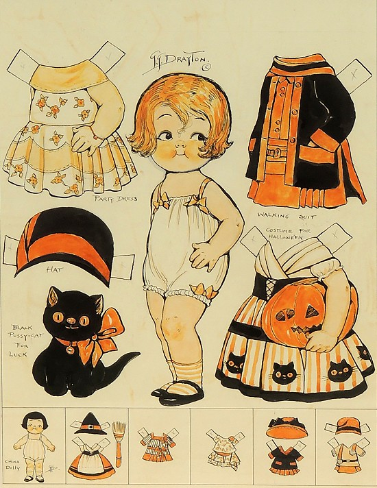 Halloween Doll, Pictorial Review Magazine