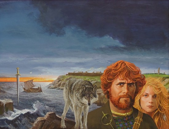 """""""Wolves of the Dawn"""" Book Cover"""