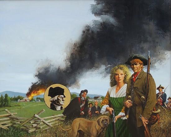 """Guns of Liberty"" Book Cover"