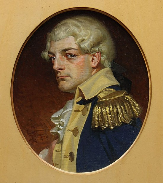 Young Admiral, Kuppenheimer Book Cover