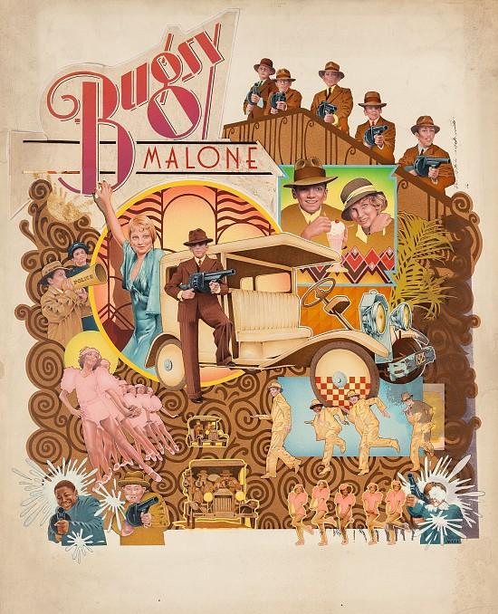 Bugsy Malone, Movie Poster Illustration