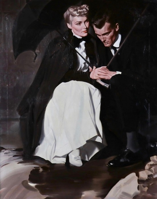"""There is No Love,"" Saturday Evening Post Magazine Illustration"