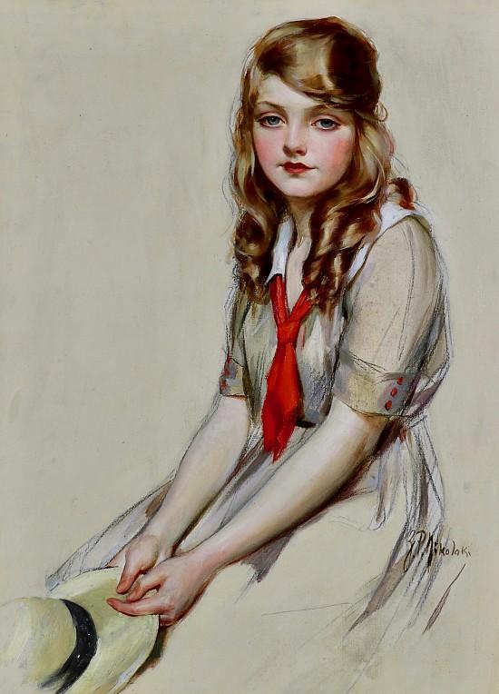 The Modern Priscilla, Magazine Cover, 1916