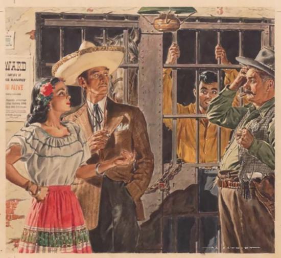 Juan Discovers Gold, Liberty Magazine
