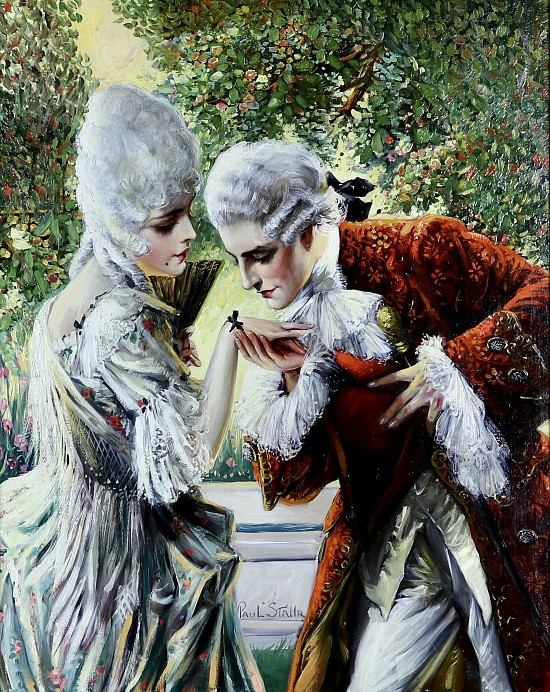 Courting Courtiers, The Elks Magazine Cover, June 1925