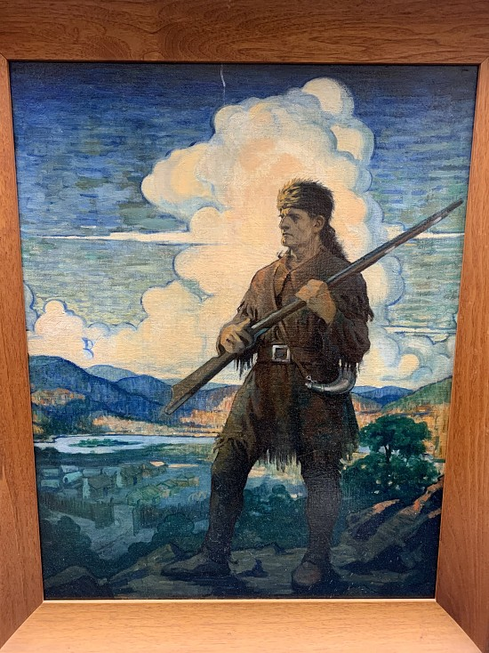 The Frontiersman- AFTER NC Wyeth