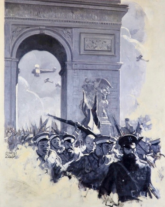 WWI Illustration