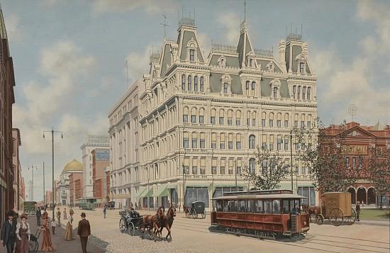 Main Street, Buffalo, New York, 1905