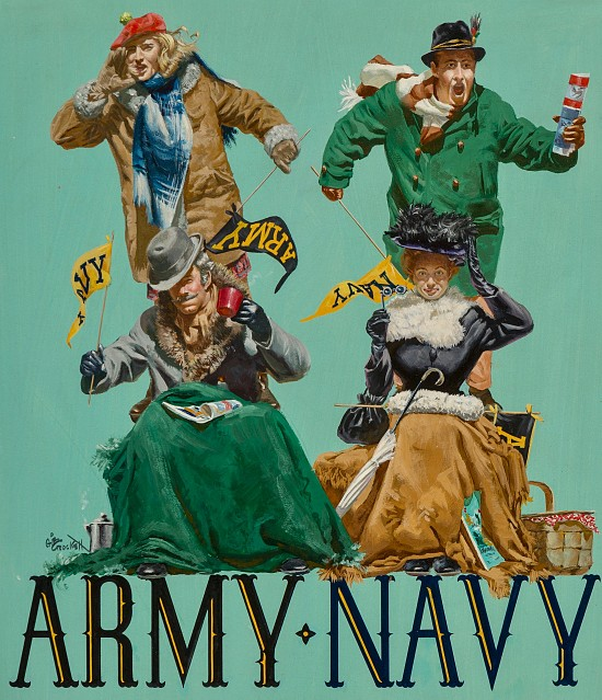 Army vs. Navy Fans