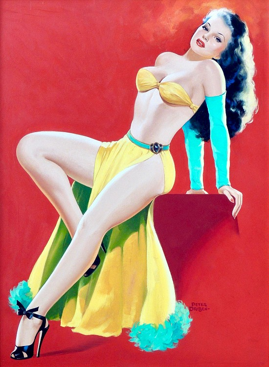 Pin-up, Titter Magazine Cover