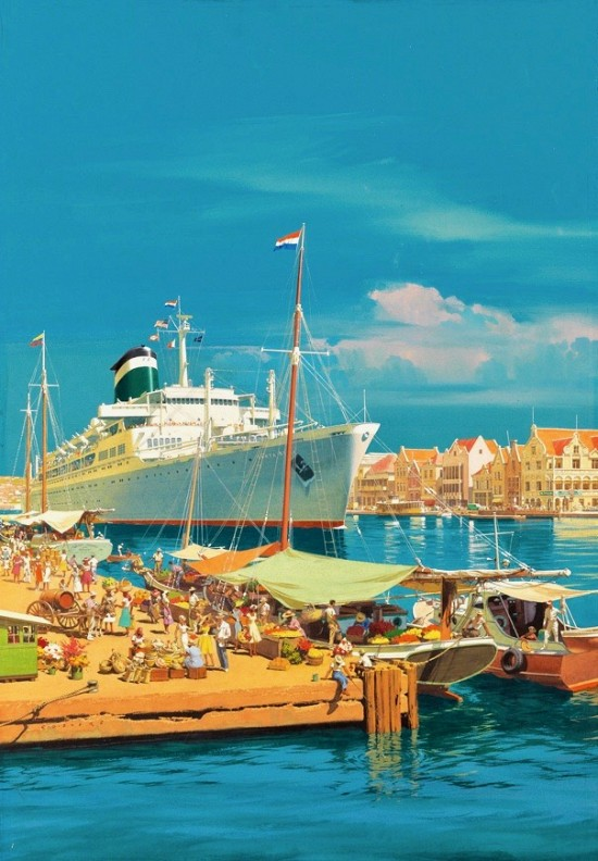 Curaçao, Travel Advertisement