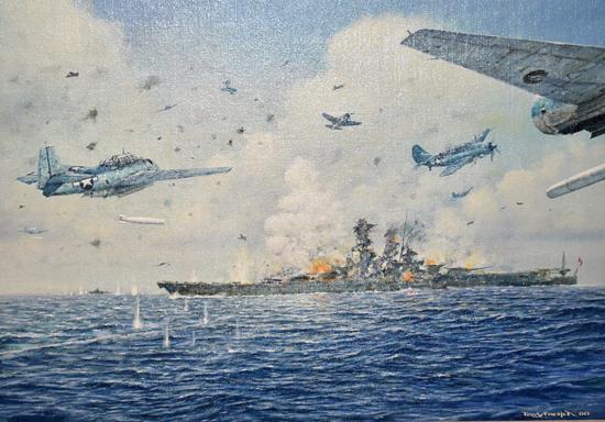 WWII Naval Battle