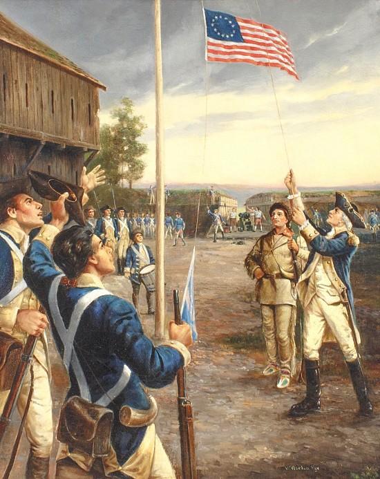 George Washington at Fort Duquense