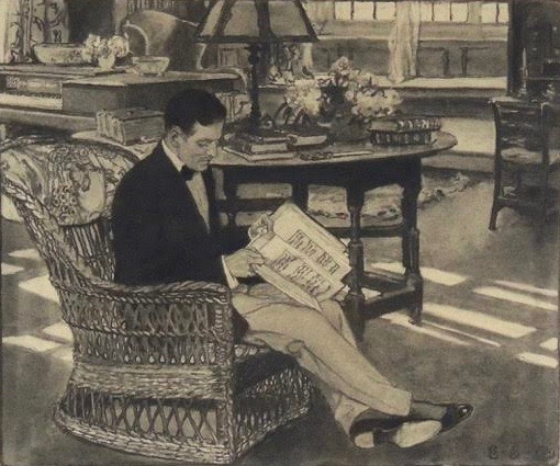 In the Parlor with a Book