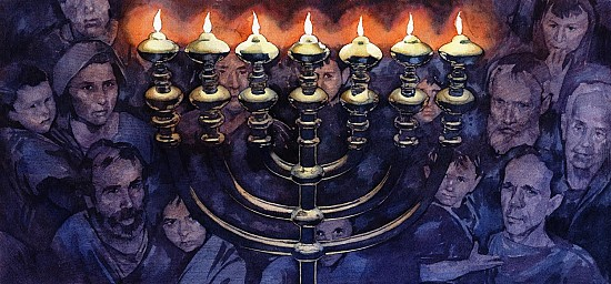Hannukah at Valley Forge