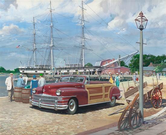 Mystic Seaport, Exxon Advertisement