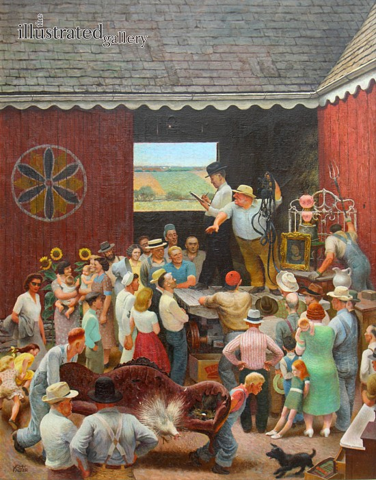Country Auction, Post Cover