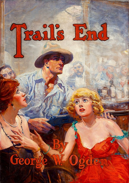 Trail's End, Book Illustration