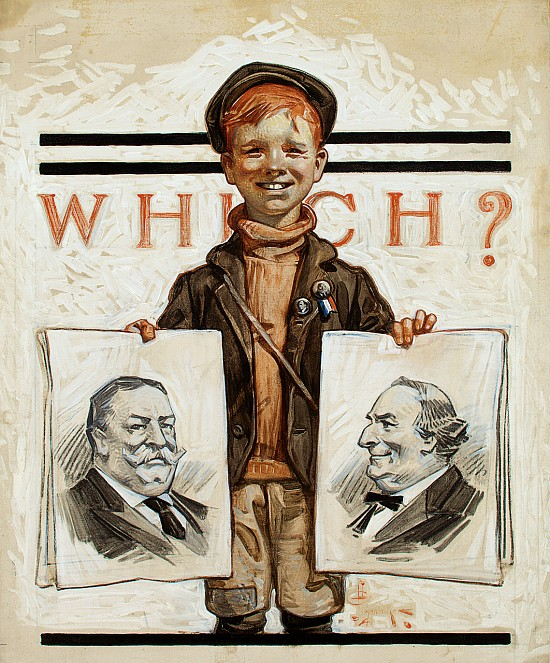 Which One? Saturday Evening Post Cover