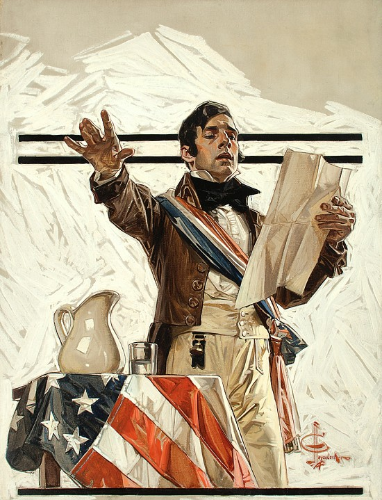 July 4th Edition, Saturday Evening Post Cover