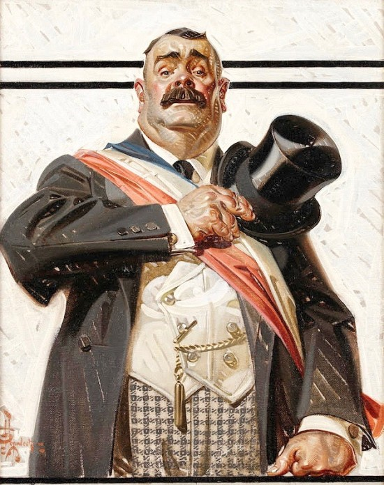 The Candidate, Saturday Evening Post Cover
