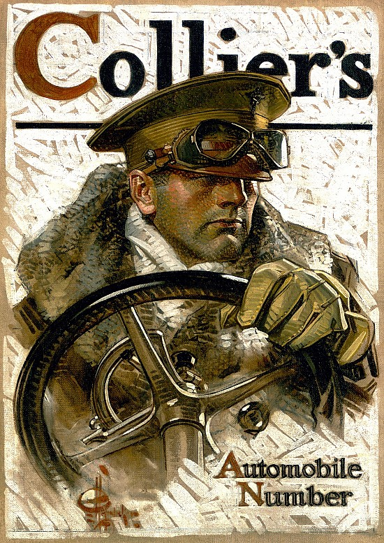 Automobile Number, Collier's Magazine Cover