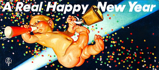 A Real Happy New Year, Amoco Advertisement