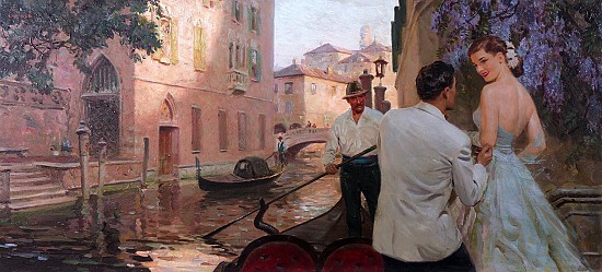 Gondola In Venice