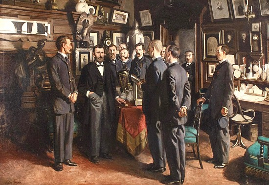 President Ulysses S. Grant and His Cabinet