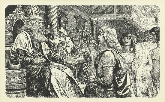 Lief Erikson The Lucky, Book Illustration