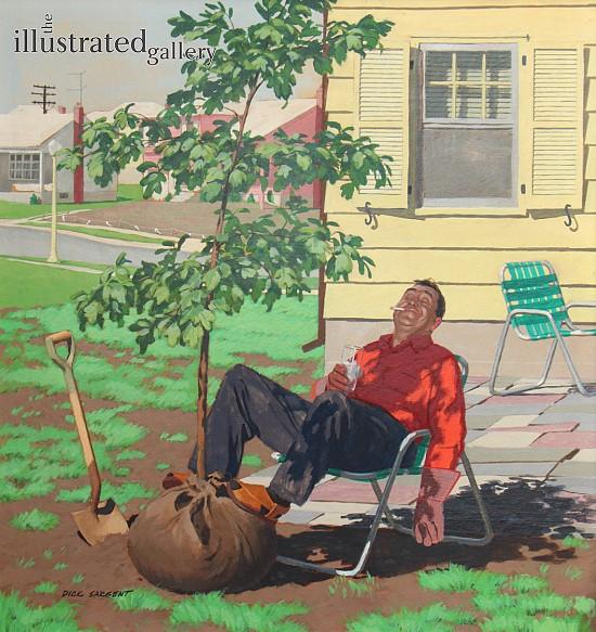 Original Art For Sale: Men Illustrations