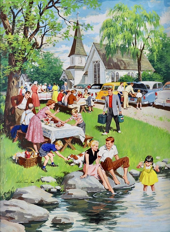A Church Picnic