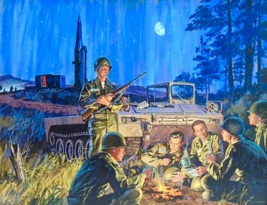 U.S. Army Encampment