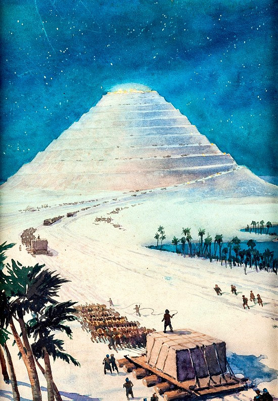 "Amazing Stories ""Wonders of the Ancient World: Building the Great Pyramid"""